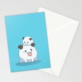 LoL Poro - Blue ver. Stationery Cards