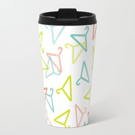 Coloured Hangers Travel Mug