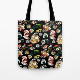 Sushi Black Tote Bag