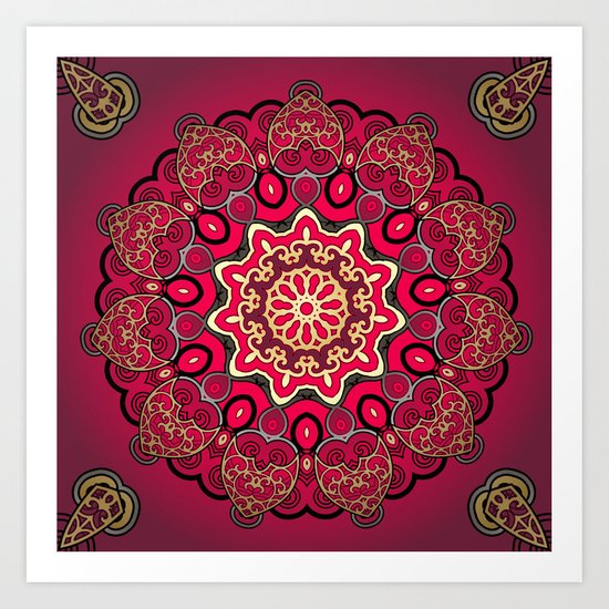 Mix & Match Arabian Nights 1 Art Print