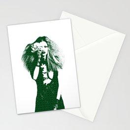Fashion Lara Stone Calvin Klein Stationery Cards