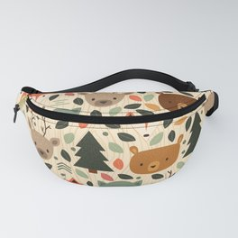 Woodland Creatures Fanny Pack