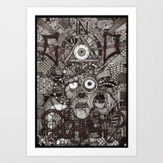 In God We Rust  Art Print