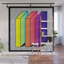 Memphis Style shaded Wall Mural