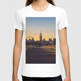 Sunset in New York City (Color) T-shirt