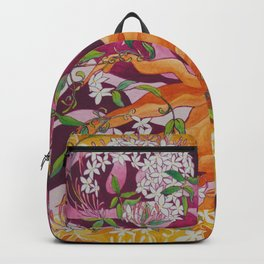 Jasmine - the best scent Backpack