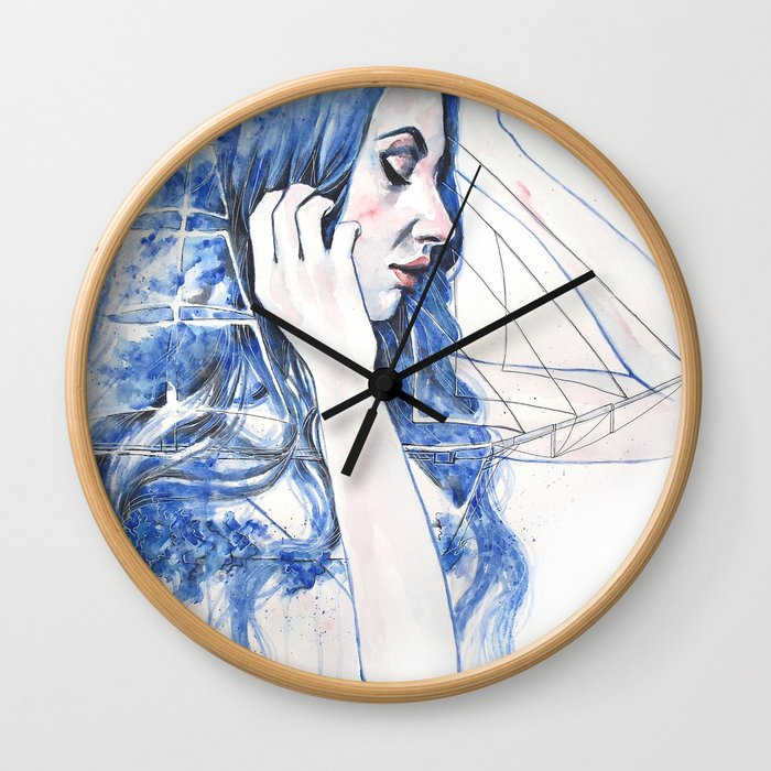 The true journey is inside yourself Wall Clock