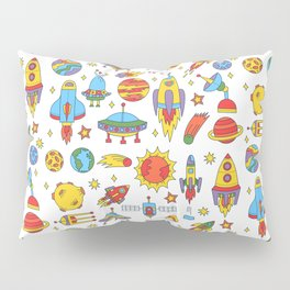Outer space cosmos pattern Pillow Sham