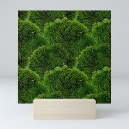 Moss - Green Luscious Mossy Texture - Full on Natural Moss Mounds- Earthy Greens -Turning Moss Green Mini Art Print