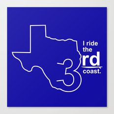 TX 3rd Coast Canvas Print