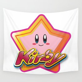 Kirby the Superstar (Icon) Wall Tapestry