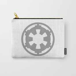 Gray Imperial Cog, Galactic Empire, Imperial Crest, Dark Side Carry-All Pouch