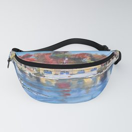 Boathouse Row, Philadelphia Fanny Pack