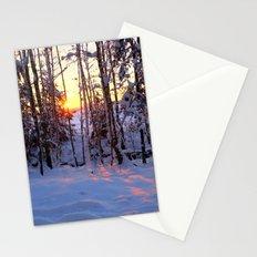 Winter glow Stationery Cards
