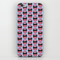 mouth iPhone & iPod Skins featuring MOUTH BREATHER by Matthew Taylor Wilson