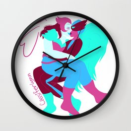 kendra and donna Wall Clock