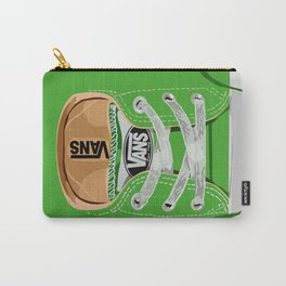 Cute Green Vans all star baby shoes apple iPhone 4 4s 5 5s 5c, ipod, ipad, pillow case and tshirt Carry-All Pouch