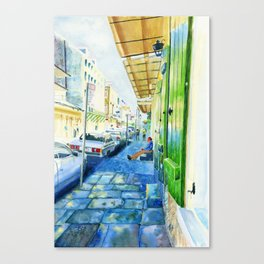 French Quarter Canvas Print