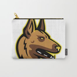Belgian Malinois Dog Mascot Carry-All Pouch