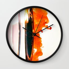 Thicker than Water Wall Clock