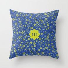 Fallout 4 Vault 111  Throw Pillow