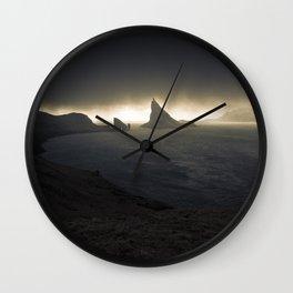 Line of Light Wall Clock