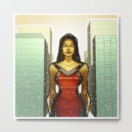Asian Archicture Metal Print