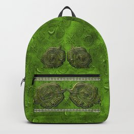 African elephant with ethnic motives V4 V Backpack Backpack