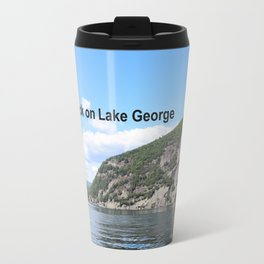 Roger's Rock on Lake George in the Adirondacks Travel Mug