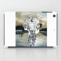 ghost iPad Cases featuring Ghost by Steven Bossler