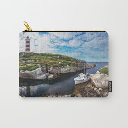 Moored at the Lighthouse Carry-All Pouch