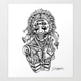 Synthetic skin Art Print