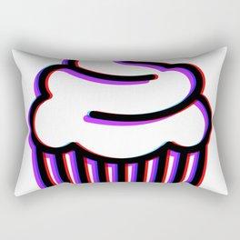 Trippy Cupcake Rectangular Pillow