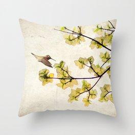 Beautiful Spring Throw Pillow