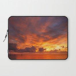 Burning Sunset Laptop Sleeve