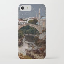 An Old bridge in Mostar iPhone Case