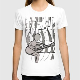 Urban Guitarist  T-shirt