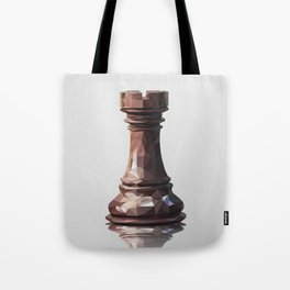 rook low poly Tote Bag