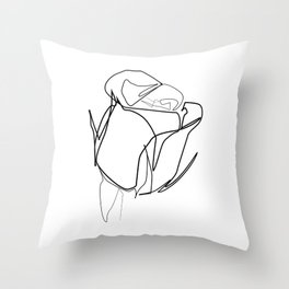 """"""" Botanical Collection """" - Rose Throw Pillow"""