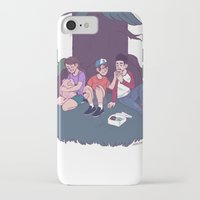 donuts iPhone & iPod Cases featuring donuts by monsternist