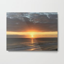 Beautiful Daytona Morning Metal Print