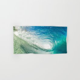 Wave Tube Hand & Bath Towel