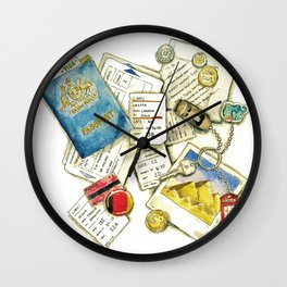 Souveniers Wall Clock