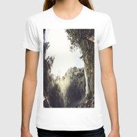 yosemite T-shirts featuring Yosemite Waterfalls by Anshil Alan Popli