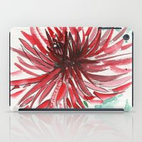 dahlia iPad Cases featuring Bursting With Excitement  by Kate Havekost Fine Art