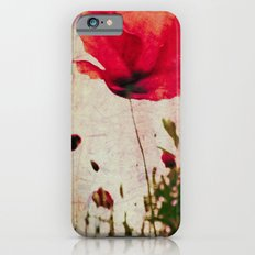 Heavy Poppy iPhone 6s Slim Case