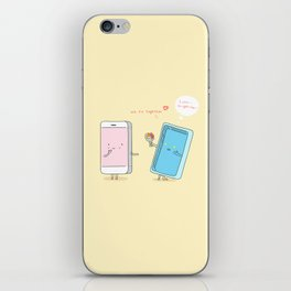 They were made for each other. iPhone Skin