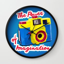 The Power of Imagination Wall Clock