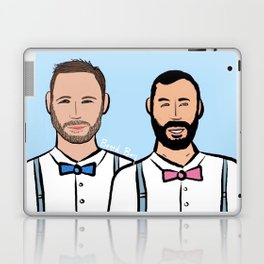 Beard Boy: Markus & Javi Laptop & iPad Skin