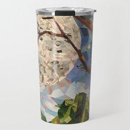 MOON WOOD COLLAGE Travel Mug